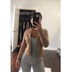 Windsor Fashions Tan Jacket